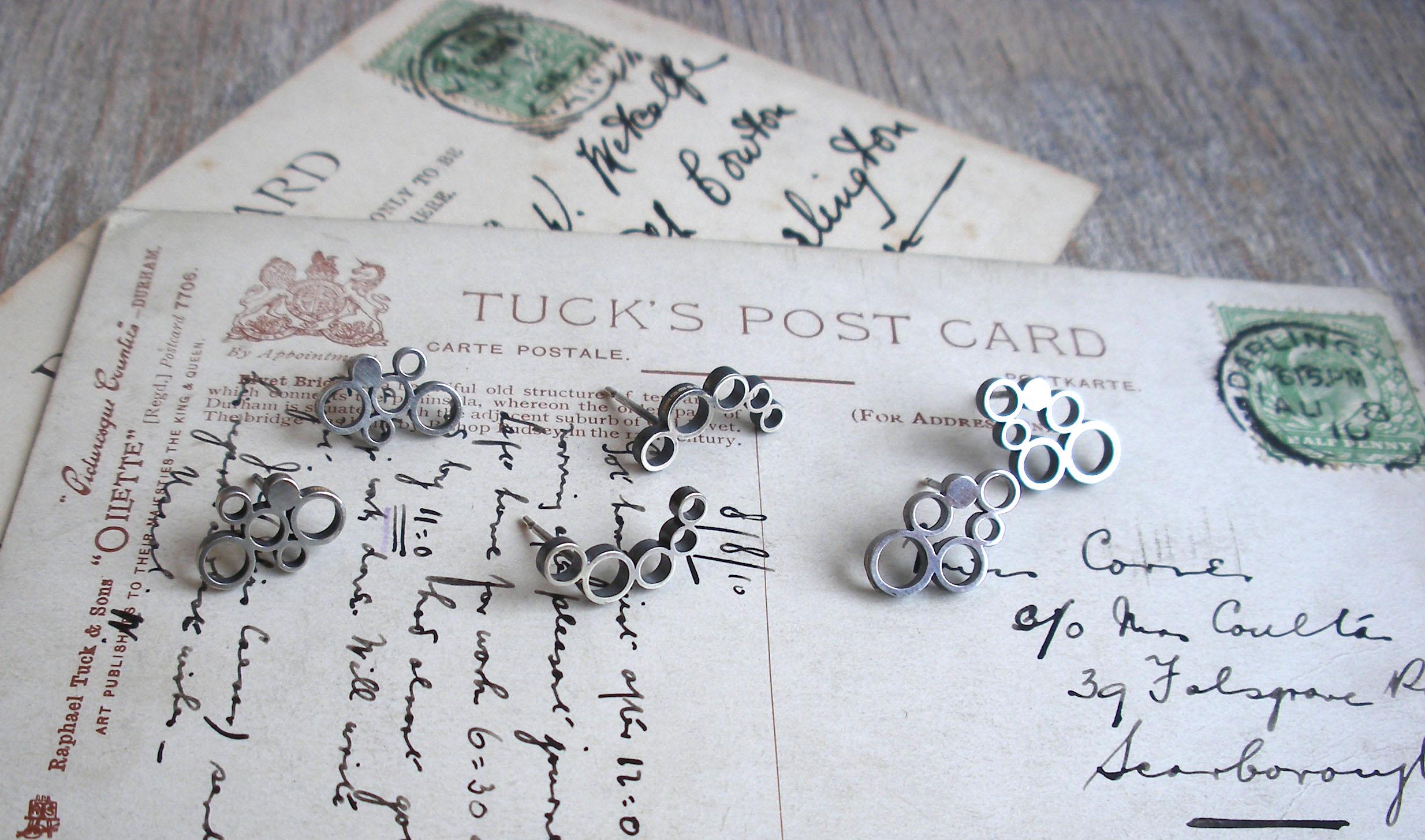 Earrings - Sterling Silver Circles