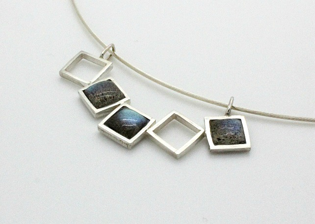 Necklace - Labradorite and Silver
