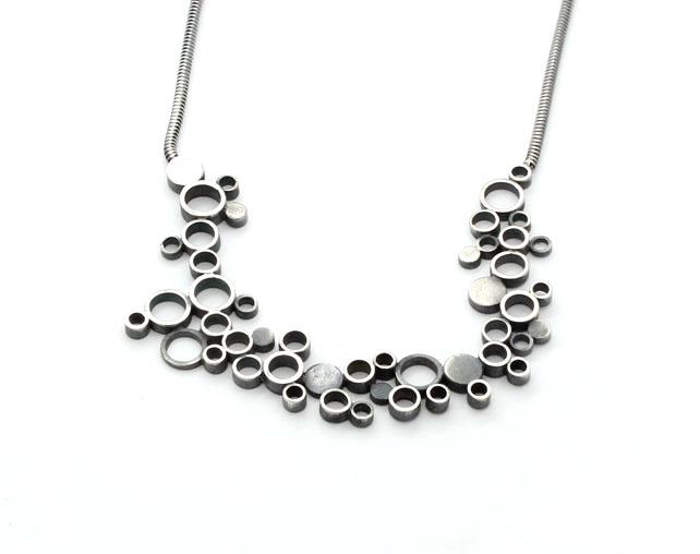Silver Circles Pendant