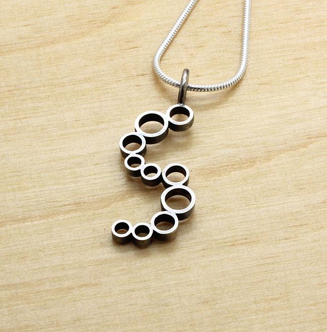 Pendant Silver Circles