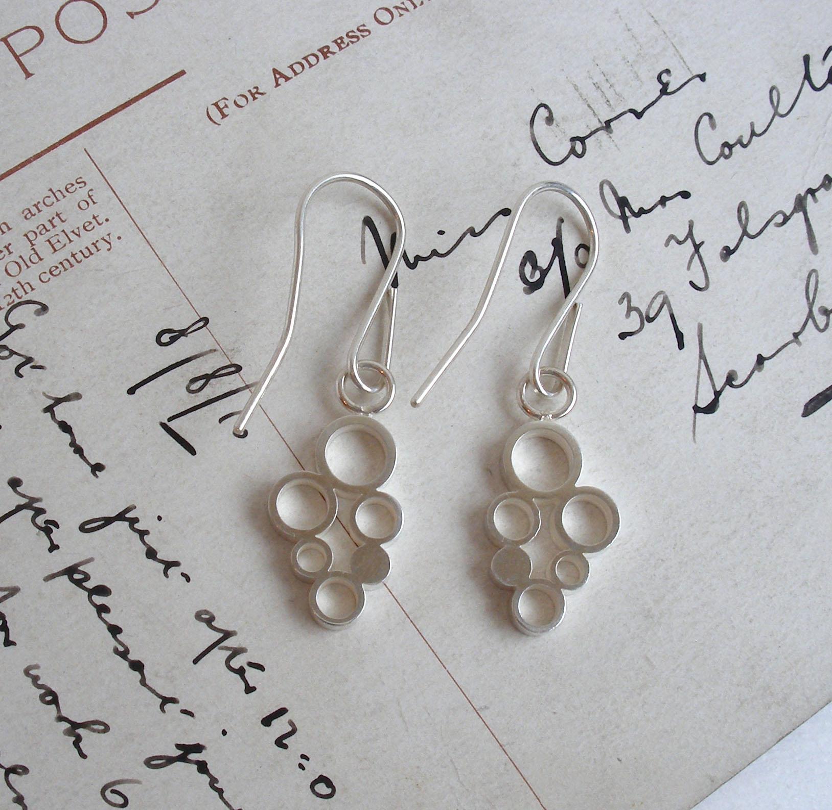 Circles Dangly Earrings