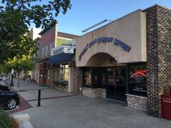 coffee shop outside street