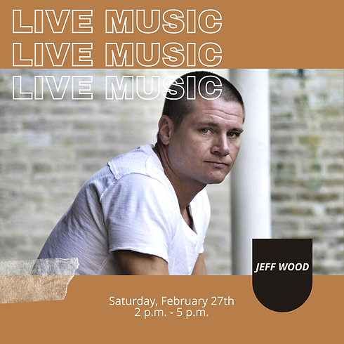 Live Music: Jeff Wood