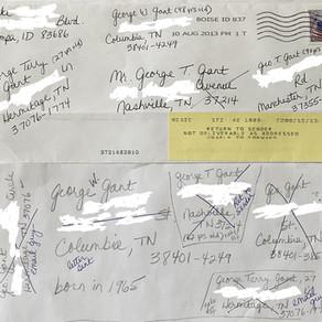 George T Gant-Return to Sender