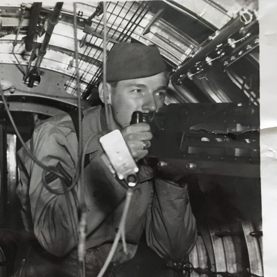 Richard Postier - Radio Operator and Waist Gunner