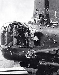 miller flak damaged plane.jpg