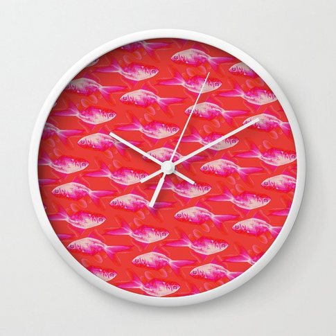Society6 Wall clock