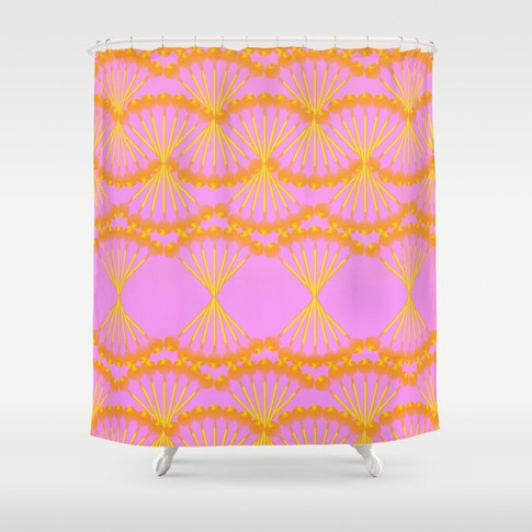 Societ 6 Shower Curtain