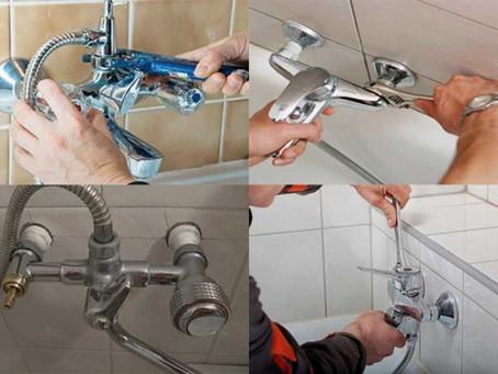 Причины, почему может понадобиться замена старого смесителя в ванной