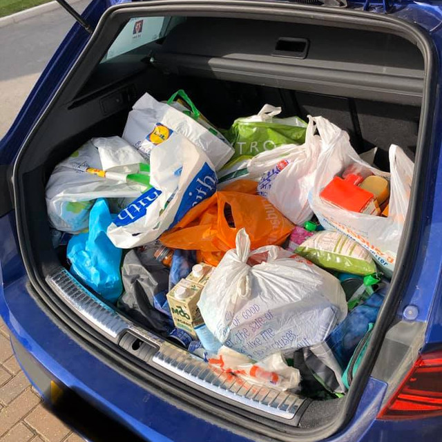VE Day food drive