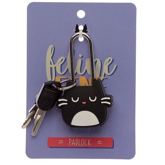 Feline Fine cat padlock