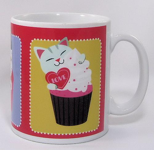 The Cupcake Cats mug
