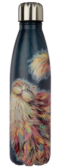 Kim Haskins Rainbow Cat insulated drinks bottle