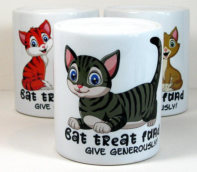 Rosie 'cat treat fund' money bank