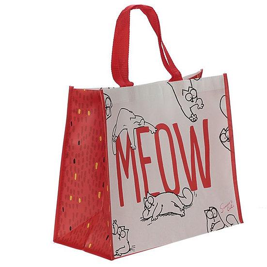 Simon's Cat Meow shopping bag