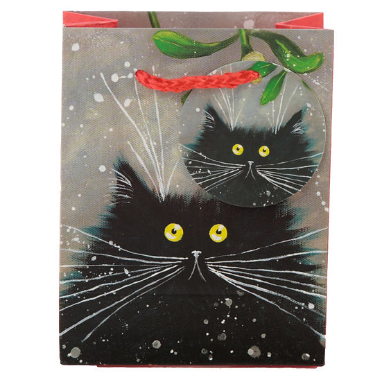 Kim Haskins cat gift bag