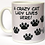 Thumbnail: Lilac background 'Crazy Cat Lady' mug
