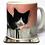 Thumbnail: Blackie mug and optional coaster