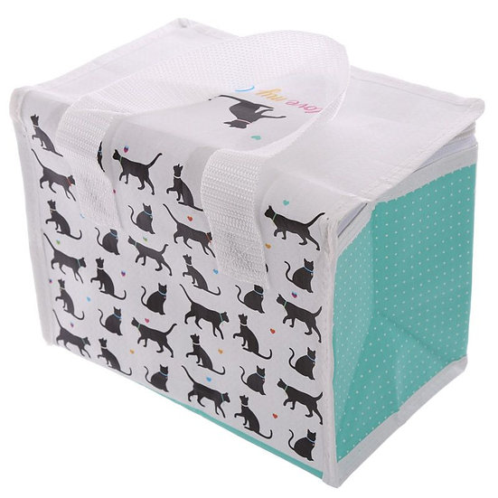 'I love my cat' insulated cool bag / lunch box