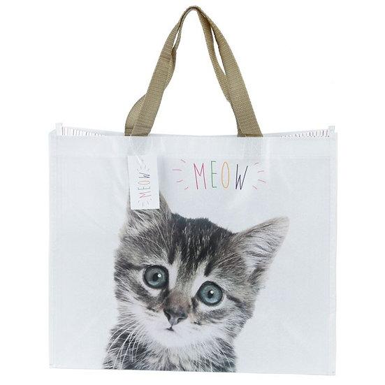 Meow Cat design shopping bag