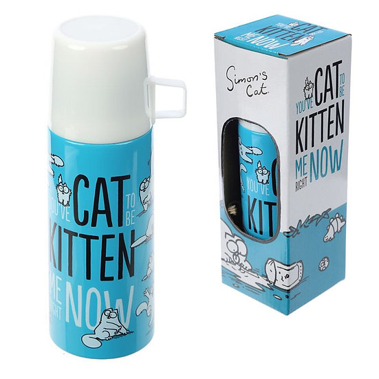 Simon's Cat Stainless Steel 350ml Flask
