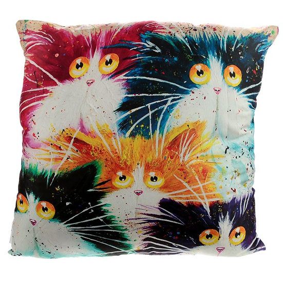 Kim Haskins cat cushion