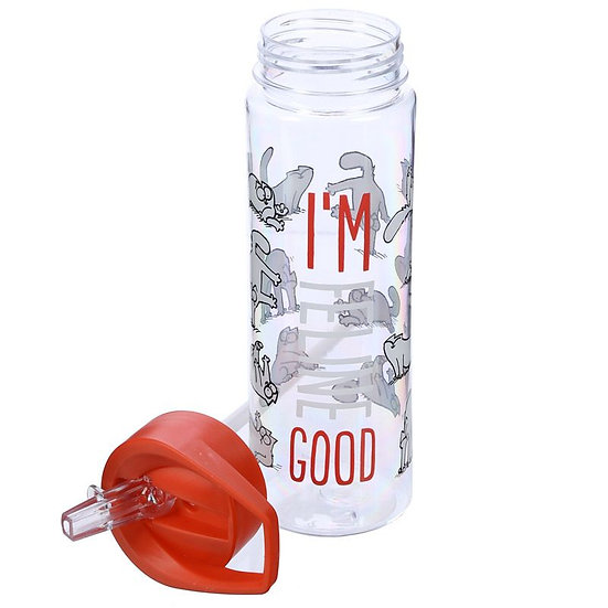 Simon's Cat 'I'm Good' 500ml water bottle