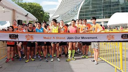 Orange Ribbon Run 2014 Saw Youths Taking