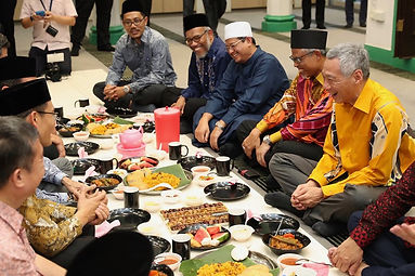 Attended a Buka Puasa (breaking of fast)