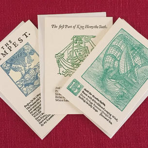 First Folio Shakespeare Cards