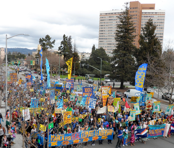 March for Real Climate Leadership – Oakland CA