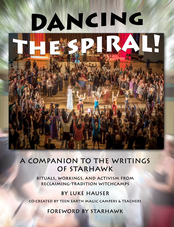 Cover of new book - Dancing the Spiral