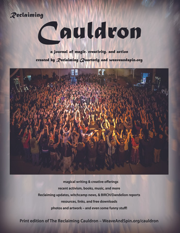 Reclaiming Cauldron – new experimental journal!