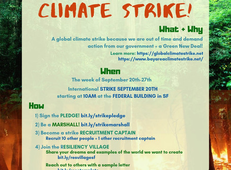 Strike for Climate Justice - Youth Strike September 20