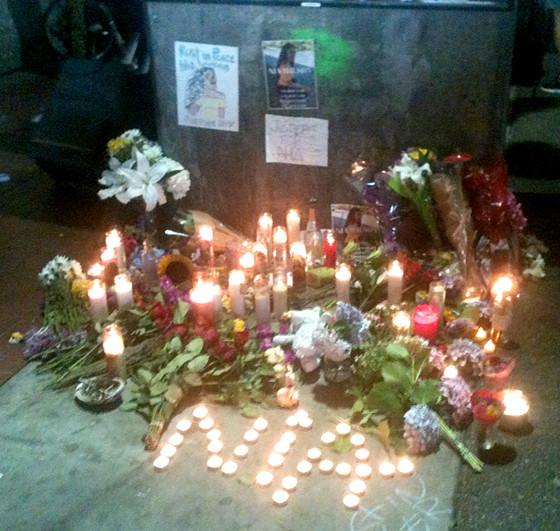 BART Vigil for Nia Wilson