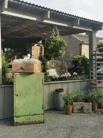 Front of the shop, brocante style, interiors, french interiors, shabby chic, coffee, cake, mirrors, Harrogate
