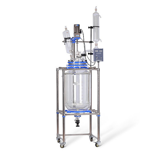 S Series 100L Jacketed Glass Reactor