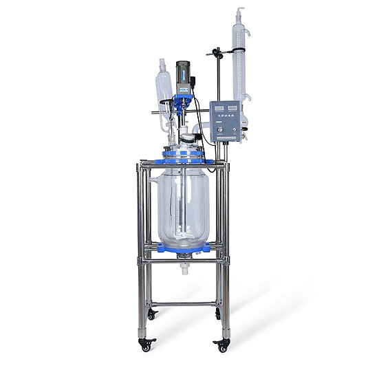 S Series 20L Jacketed Glass Reactor