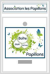 Boîte aux lettres Papillons© Virtuelle