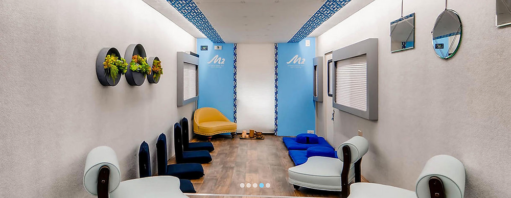 Inside the M2 Mindfulness Mobile Studio
