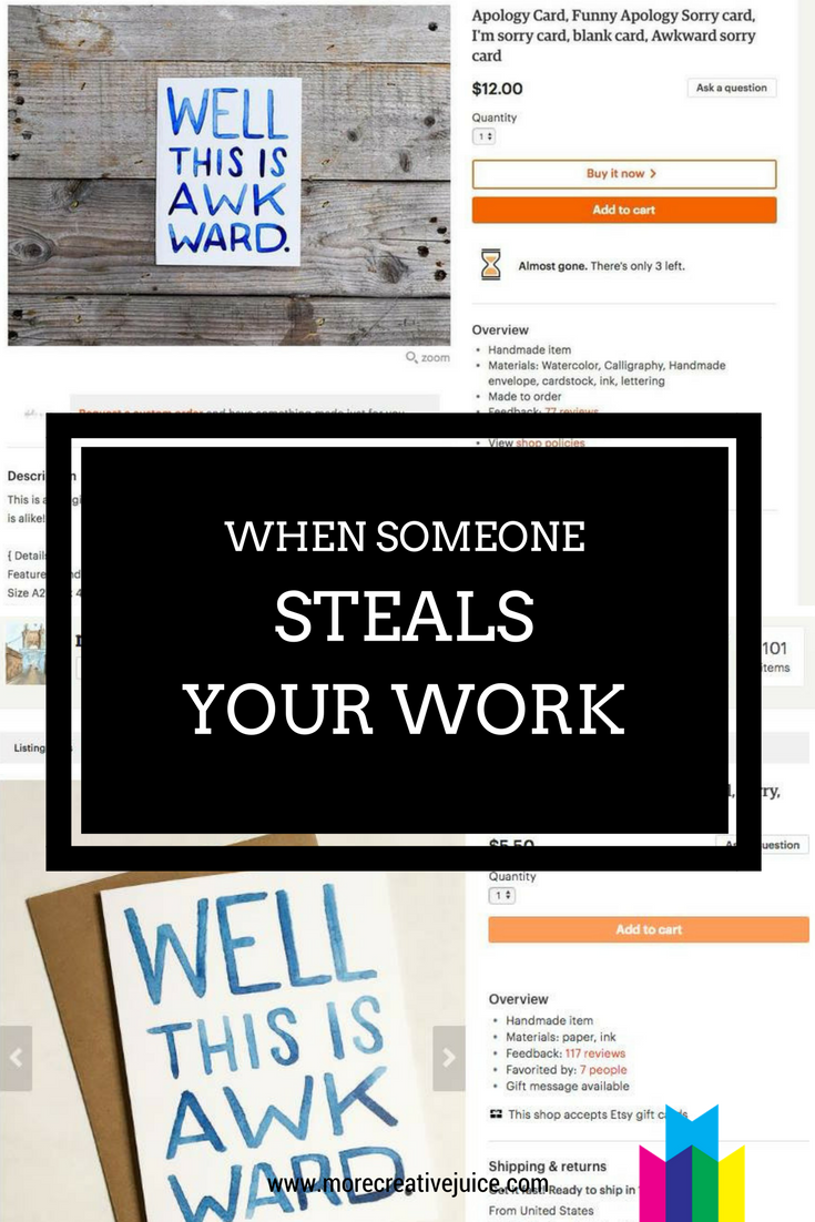 When Someone Steals Your Work Blog Post