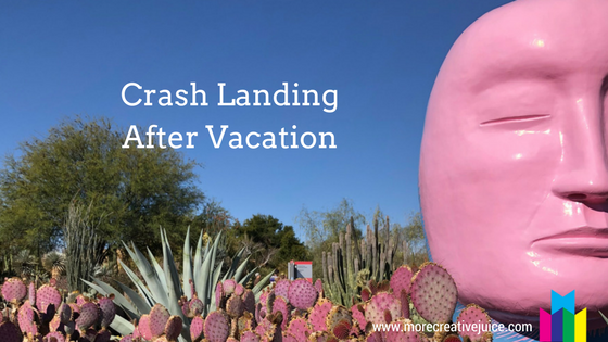 Crash Landing After Vacation Title Image
