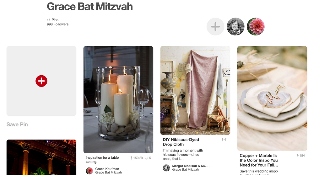 Pinterest Board Screenshot Showing Helpful Products