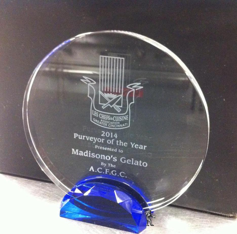 Madisono's Purveyor of the Year