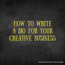 """How to write your bio or """"about"""" page"""