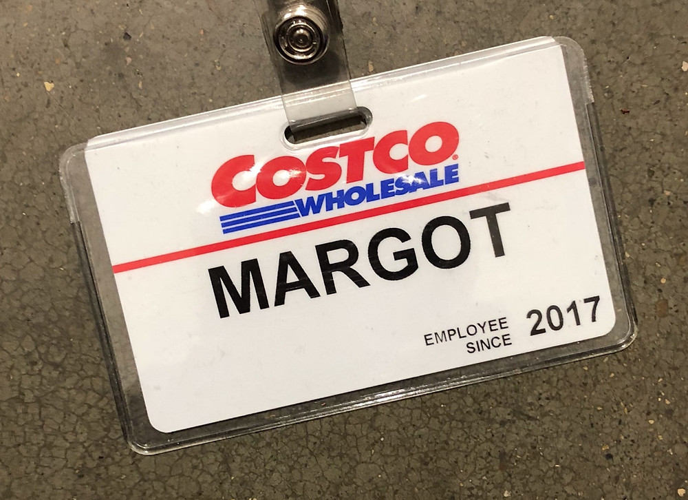 Costco Badge