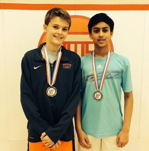 JP Tew (left) and Rohan Iyer (right) make it to the finals in national championships