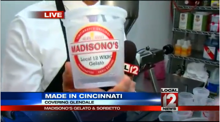 "Madisono's is featured in WKRC's ""Made In Cincinnati"" Series"