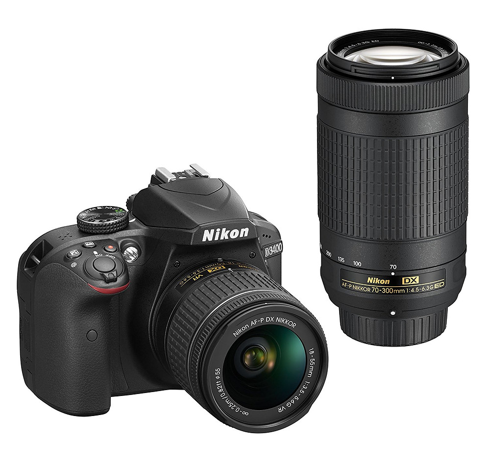 Nikon D3400 DSLR Camera Recommendation