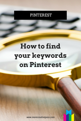 How to Find Pinterest Keywords